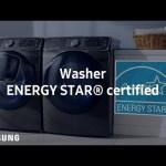 Samsung Dryer : ENERGY STAR® certified