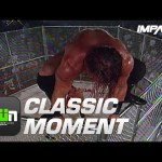 Chase Stevens Moonsaults OFF THE CAGE (NWA-TNA PPV #104) | Classic IMPACT Wrestling Moments