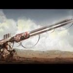 Gauss Cannon Girl – Speed Painting (#Photoshop)   CreativeStation