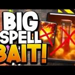 "NEW ""BIG SPELL"" BAIT DECK | EASY F2P TROPHY DECK!"