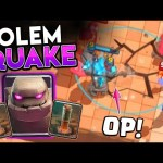 #1 GOLEM PRO CAN'T LOSE w/ EARTHQUAKE COMBO!