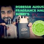 Robes08 August 2018 Fragrance Haul | Haul/Subbies