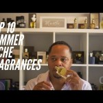 Top 10 Niche Fragrances for the Summer