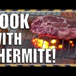 Cooking Steak at 4000 DEGREES! TKOR Tests Cooking With Thermite! Is This The Best Way To Cook Steak?