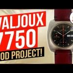 Valjoux 7750 Swap Mod Project!