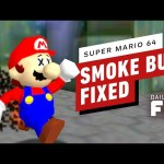 Weird Smoke Bug Fixed In Super Mario 64 – IGN Daily Fix