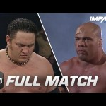 Kurt Angle vs Samoa Joe: FULL MATCH (TNA Genesis 2006) | IMPACT Wrestling Full Matches
