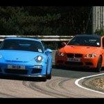 BMW M3 GTS vs Porsche 911 GT3 video review feature