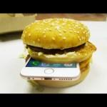 iPhone 6S in McDonald's Big Mac Dropped in Hot Piranha Acid!