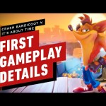 Crash Bandicoot 4: First Gameplay Details