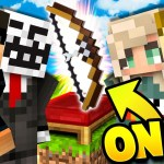 ONLY USE BOWS! 4v4! in Minecraft Bed Wars!