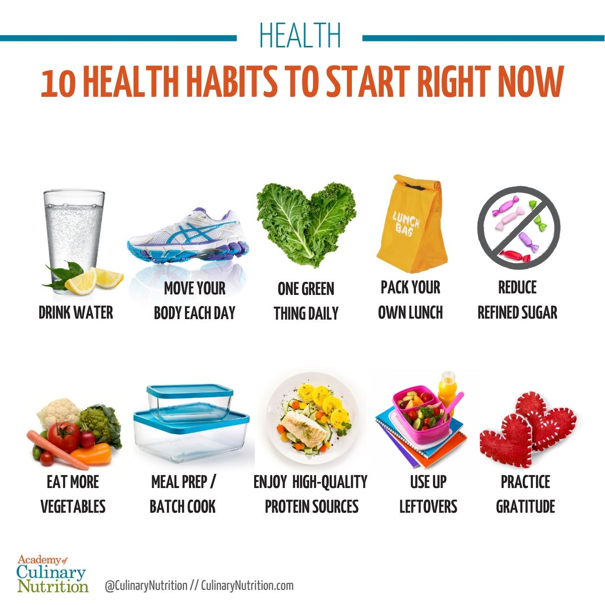 10 Health Habits To Start Right Now