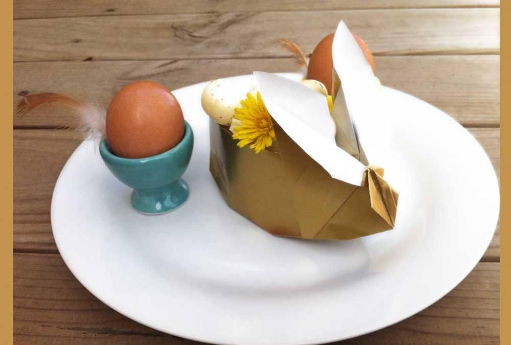 Bunny Box en origami
