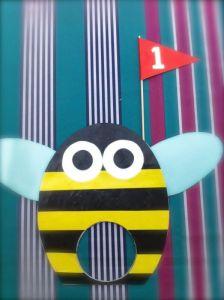 Mini golfito para niños-abeja