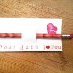 lápiz decorado y portalápiz