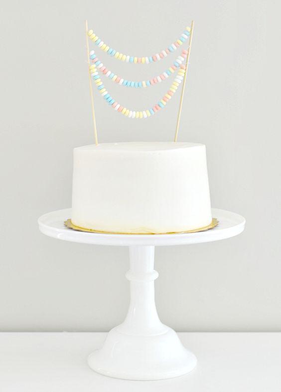 Cake topper chucherias