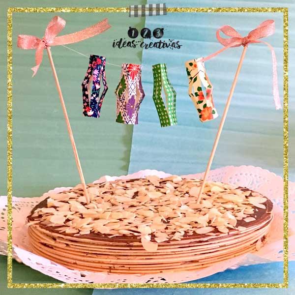 Cake toppers, o como hacer especial una tarta