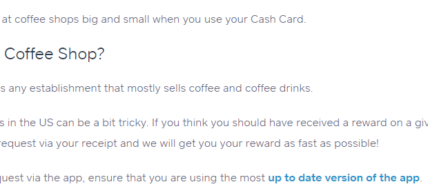 [Targeted] Square Cash Debit Card: $1 Back On All Coffee