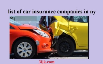 list of car insurance companies in ny