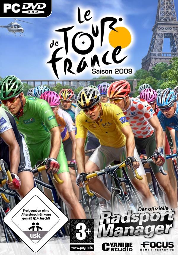 Tour de France 2009 Der offizielle RadsportManager PC