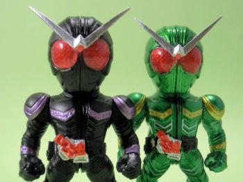 コンバージ仮面ライダー6・ジョーカー&サイクロン