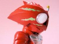 コンバージ仮面ライダー10・仮面ライダーアマゾンアルファ(白目)