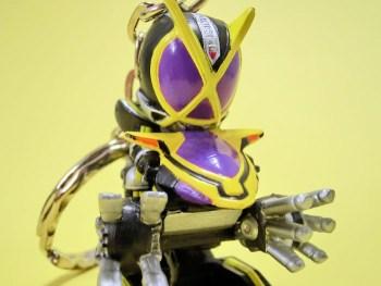 サイドバッシャー(バトルモード)&仮面ライダーカイザ