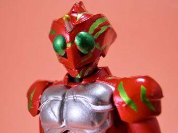 SHODO-X仮面ライダー9・仮面ライダーアマゾンアルファ