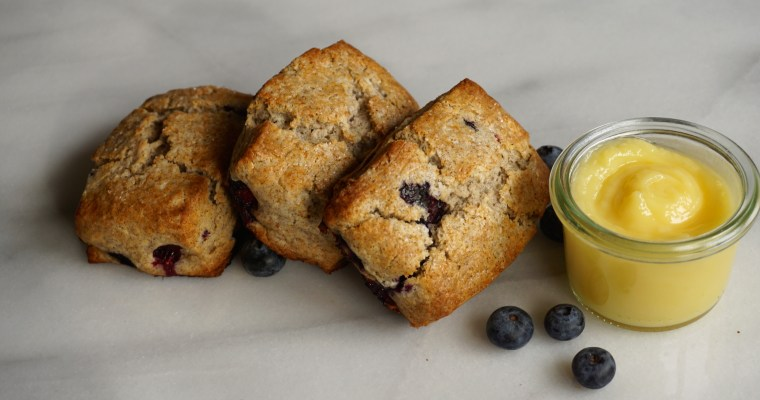 Downton Abbey (Blueberry Buckwheat Scones)