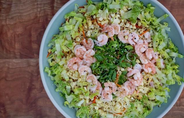 Summer Cold Noodle Salad- Somen Salad