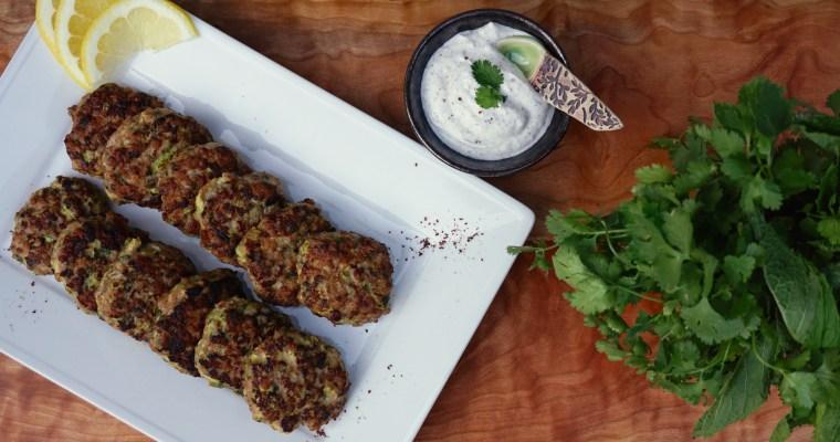 Food, Food Can Bring Us Together (Turkey & Zucchini Burgers)