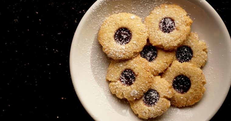 Variations on a Thumbprint Day 2: 12 Days of Cookies