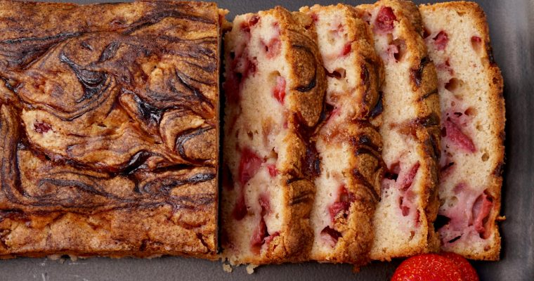 Strawberry Squared (Strawberry Bread)