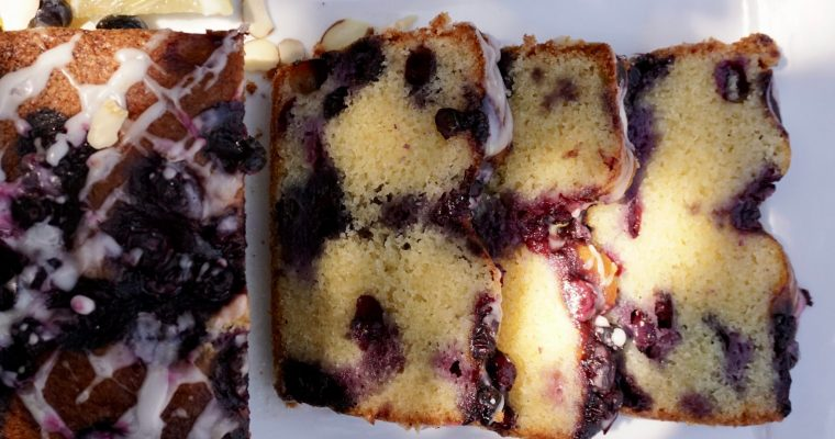 Ottolenghi-Ototalyummi  Blueberry Lemon Almond Cake