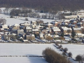 Snowy Loxley Valley