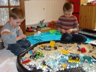 Fixing the playmobil bikes!