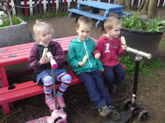 Ice lolly time!