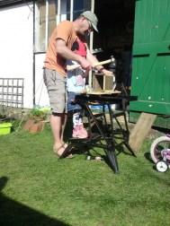 Making a nesting box 6