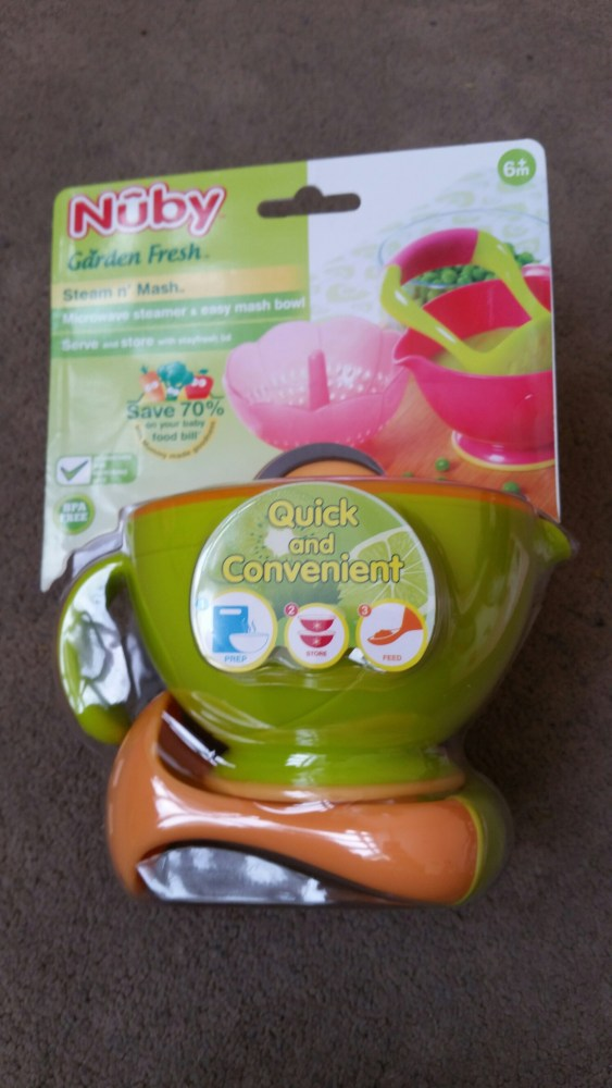 Steam and mash by Nuby UK (1/5)