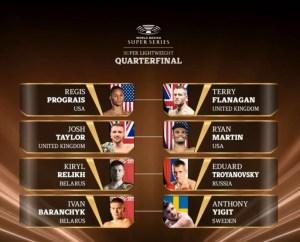WBSS tournament matchups