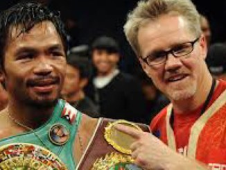 Manny Pacquiao and Freddi Roach