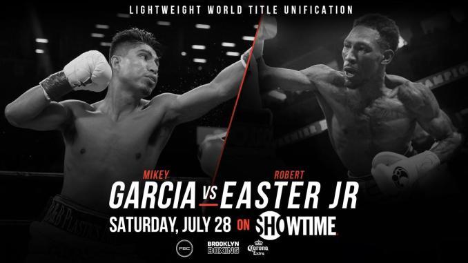 Mikey Garcia vs Rober Easter Jr