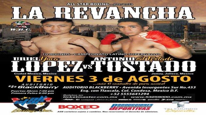 Antonio Tostado vs Victor Lopez