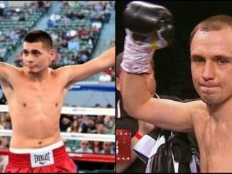 Fabian Maidana and Andrey Klimov