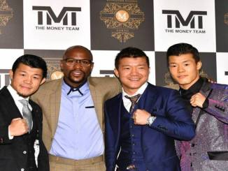Floyd Mayweather and TMT Tokyo