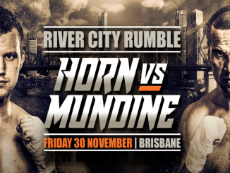 Jeff Horn vs Anthony Mundine