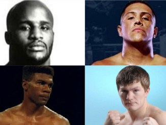 Michael Moorer, Fernando Vargas, Julian Jackson and Ricky Hatton