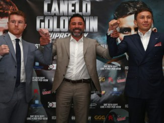 Canelo Alvarez, Oscar De La Hoya, Gennady Golovkin