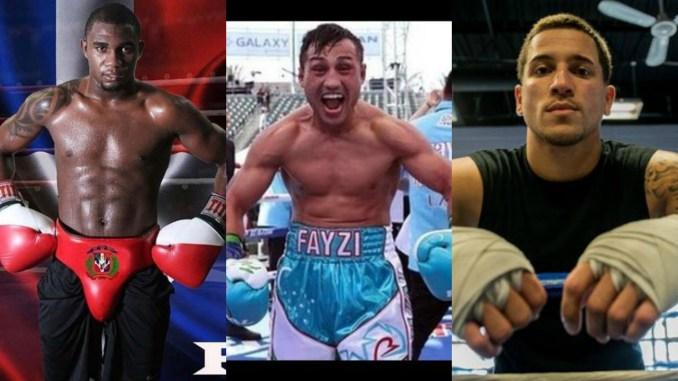Carlos Adames, Fazliddin Gaibnazarov and Jason Sosa