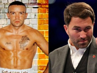 TJ Doheny and Eddie Hearn